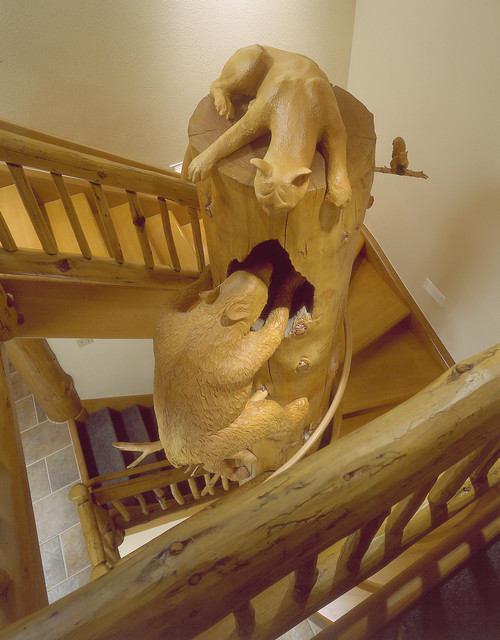 MWR Construction eclectic-staircase