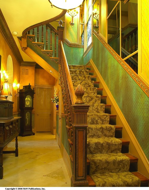 My Home traditional-staircase