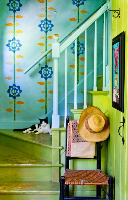 farmhouse staircase by Rikki Snyder