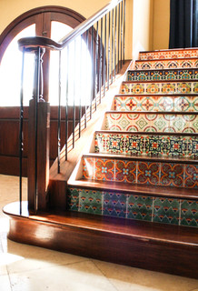 My Houzz Duncan Residence Mediterranean Staircase