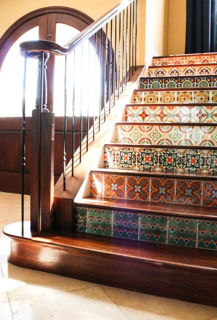 My Houzz Duncan Residence Mediterranean Staircase