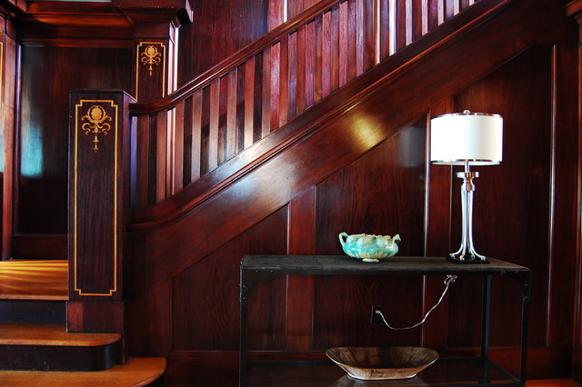 my houzz early 1900s home blends traditional design with comfort and style traditional staircase - 1900s Home Design