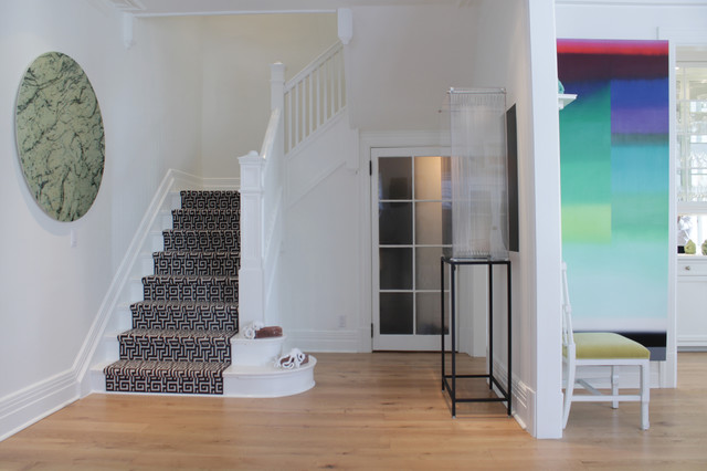 My Houzz: Richard and Maxime: Montreal contemporary-staircase