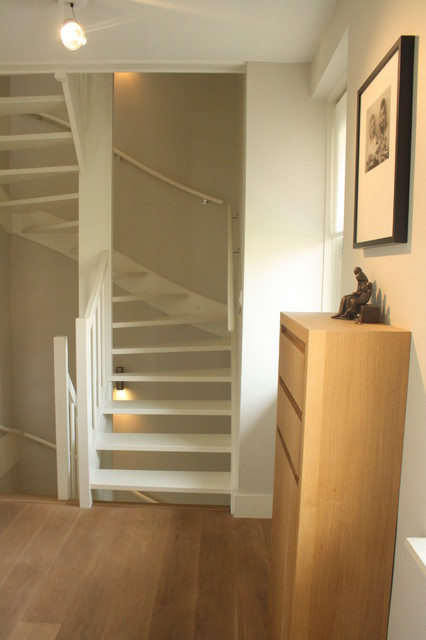 my houzz sophisticated family home breathes scandinavian style contemporary staircase