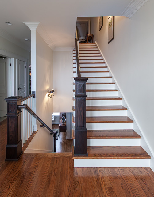 Traditional Staircase by Becki Peckham