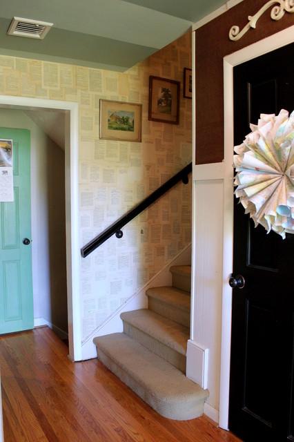My Houzz: Vintage Farmhouse Style farmhouse-staircase