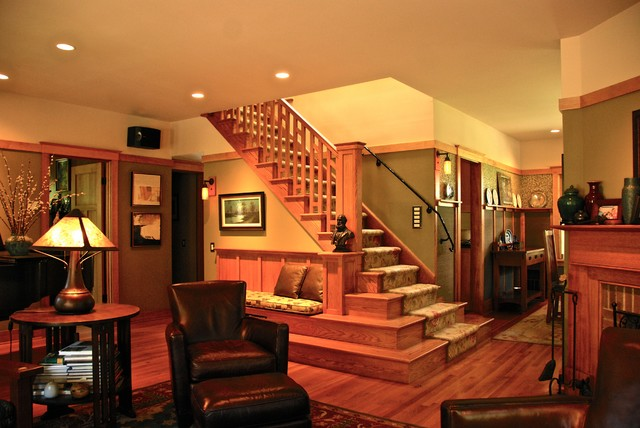 My Own House Craftsman Staircase New York By