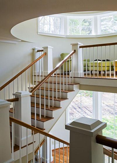 Nantucket Beadboard traditional-staircase