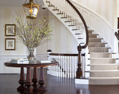 Nantucket Cliffs traditional staircase