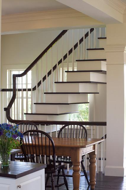 Nantucket Beach Style Staircase Boston By