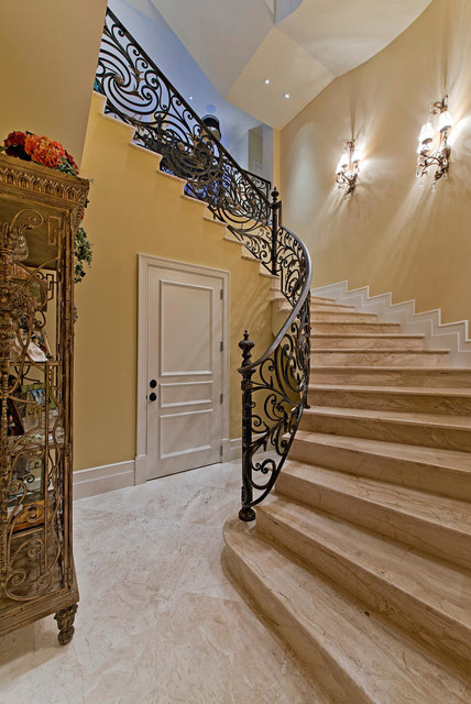 Naples Design Project traditional-staircase