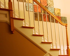 Natalie Blake Studios traditional-staircase