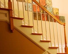 Natalie Blake Studios traditional-staircase