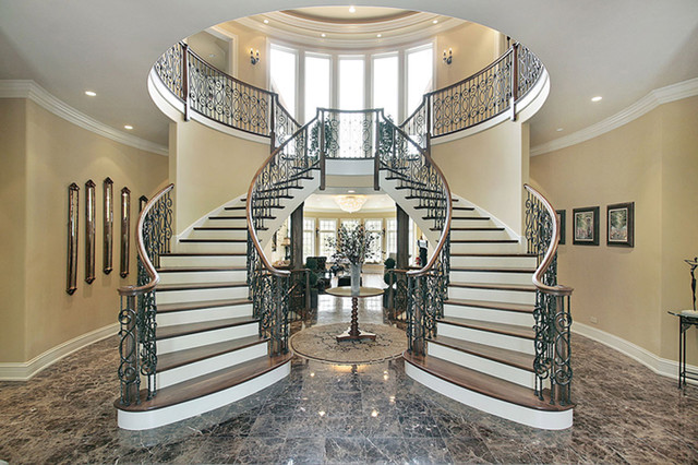 Natural Stone Staircases Contemporary Staircase