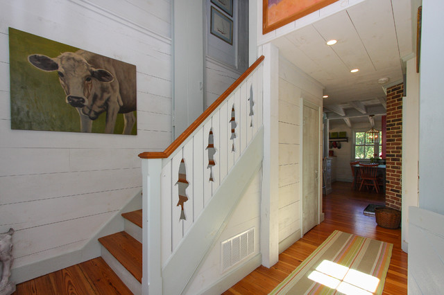 Neavitt Cottage traditional-staircase