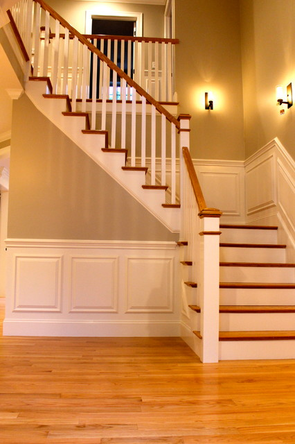 Needham Damon traditional-staircase