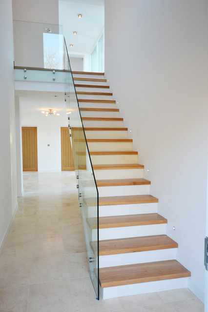 New Build House Contemporary Staircase