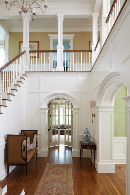 New Canaan Private Residence traditional-staircase