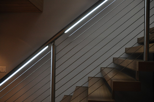 New Canaan Residence contemporary-staircase
