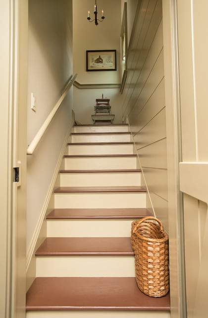 New Construction - Lewes, Delaware traditional-staircase