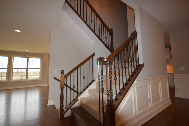NEW CUSTOM HOME IN ASHWOOD PARK traditional-staircase