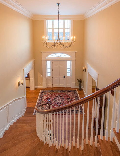 New England Colonial Traditional Staircase Boston