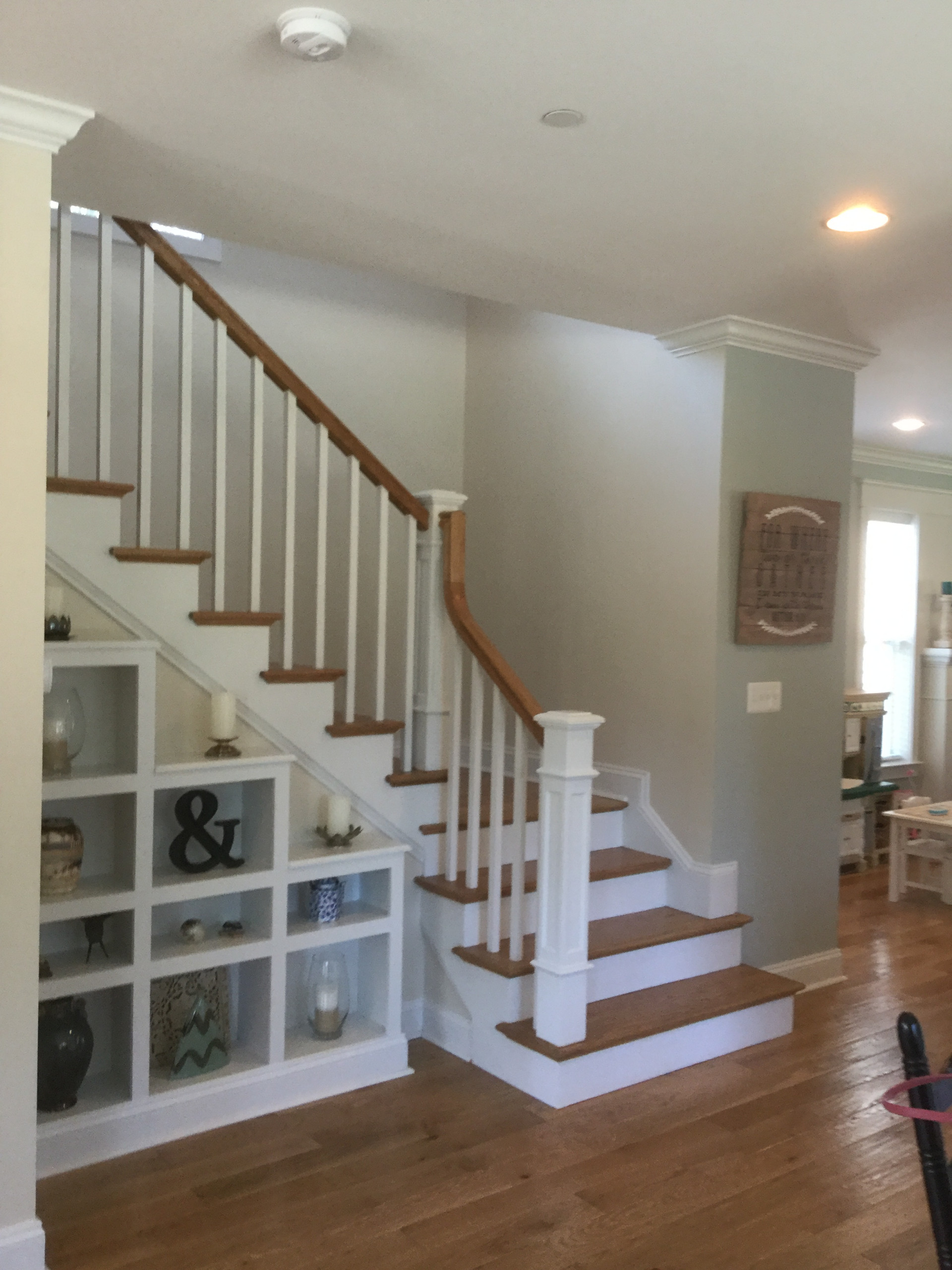 New home staircase