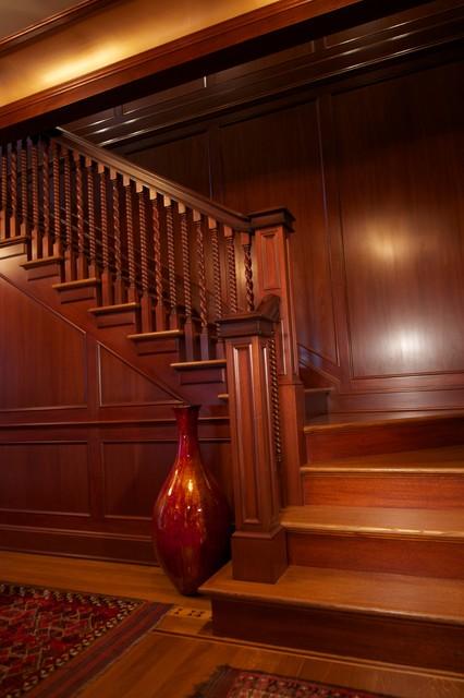 Mahogany Paneled Rooms