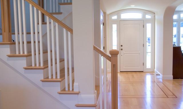 Sauerhaft Residence traditional-staircase