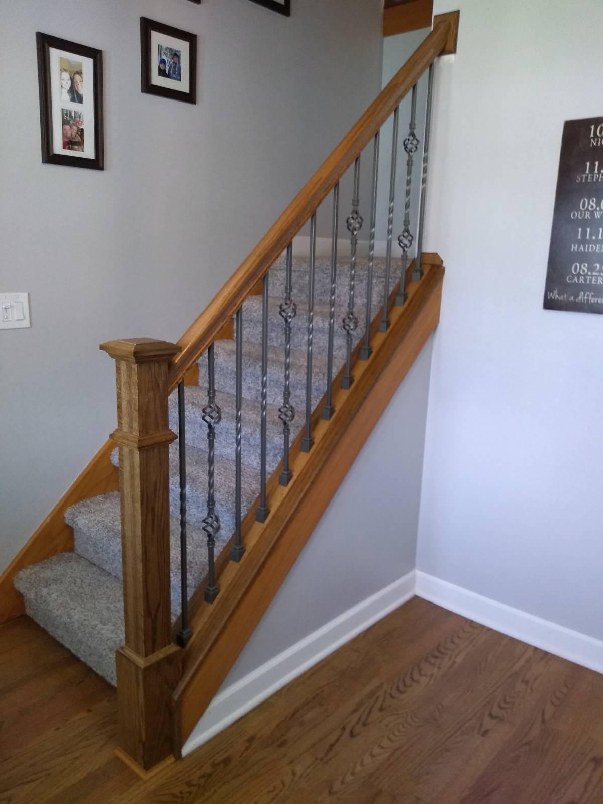 New modern railings