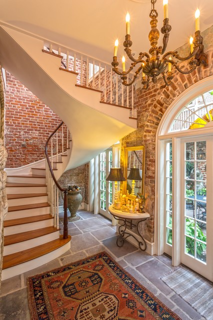 New Orleans French Quarter Residence Traditional