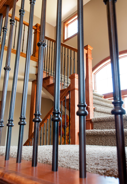 New Oval traditional-staircase