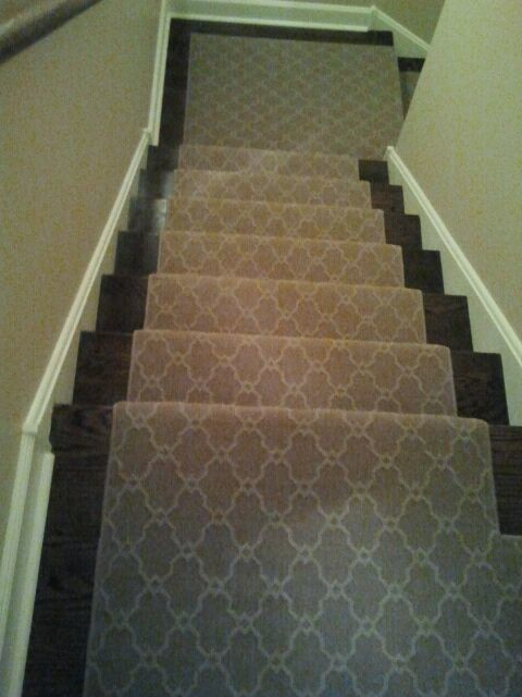 New stair runner traditional-staircase