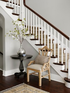 New Traditional Family Residence - Traditional - Staircase - Chicago - by Molly Quinn Design