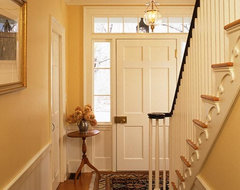 Newburyport Federal - Staircase traditional-staircase