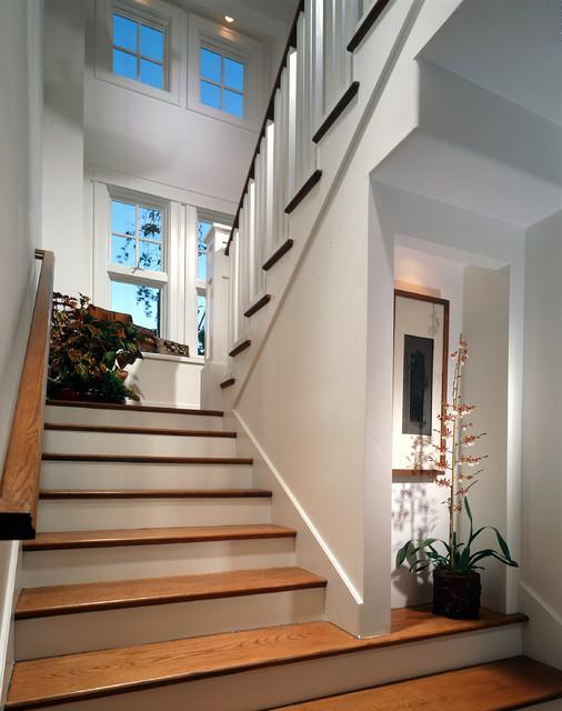 Newport Beach Custom Home 01 traditional-staircase