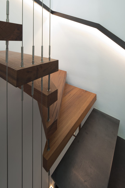 Newtown Terrace contemporary staircase