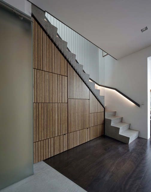 Newtown Terrace contemporary-staircase