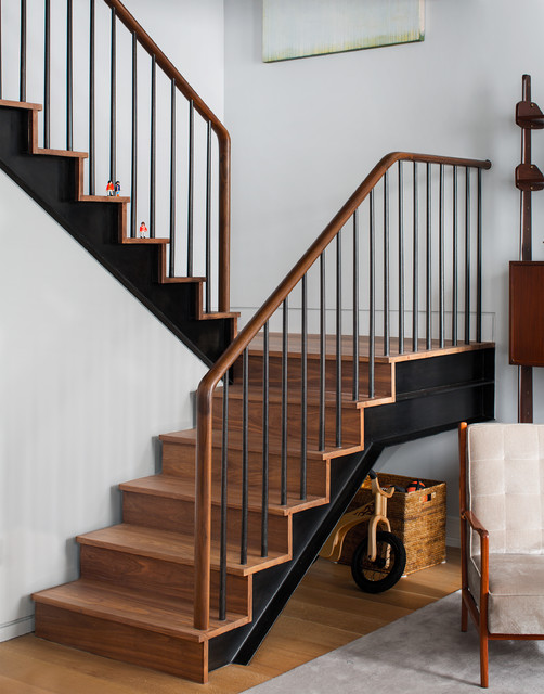 Ninth Avenue Duplex contemporary-staircase