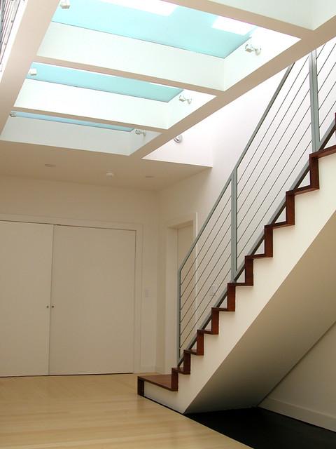 Noe Hilltop modern-staircase