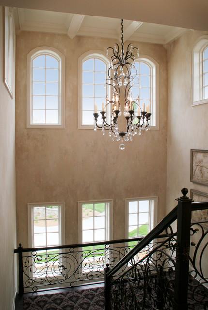 Norman Residence mediterranean-staircase