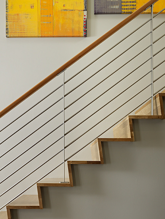 Mountain style staircase photo in Seattle