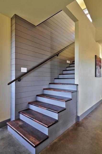 North Ridge Retreat rustic-staircase