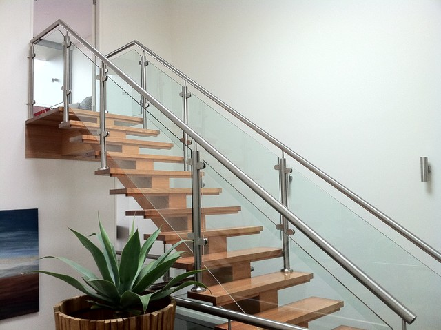 North terrace staircase contemporary sydney