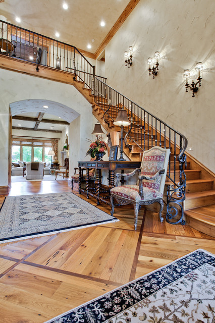 Northport Drive Dallas TX traditional-staircase