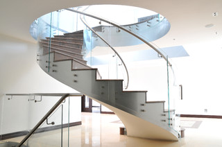 Northwood Project contemporary staircase