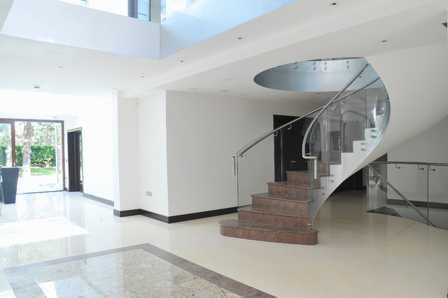 Northwood Project contemporary-staircase