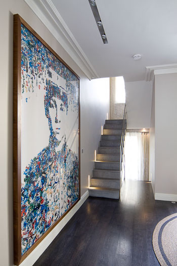 Notting Hill Home contemporary-staircase