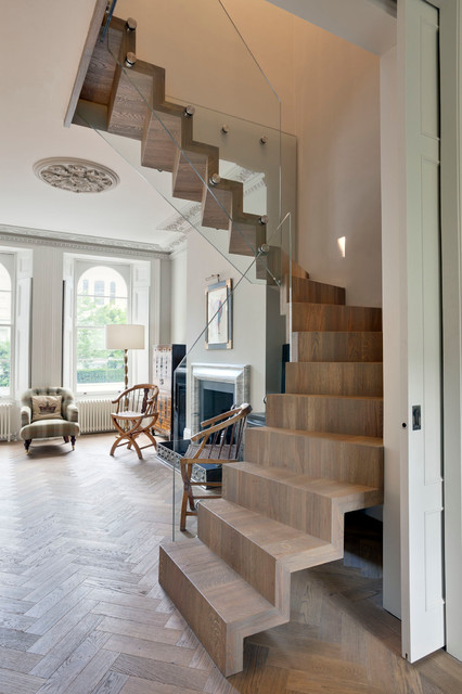 Eclectic Staircase By STEPHEN FLETCHER ARCHITECTS Part 98
