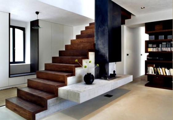 nowoczesna modern-staircase